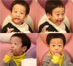 "On the upcoming January 18 broadcast of KBS 2TV's ""Superman Returns,"" Lee Hwi Jae's twin sons Seo Eon and Seo Jun tried their hand at making a cake to give as a baekil (one hundredth day birthday) present to Yoon Hyung Bin and Jung Kyung Mi's son Yoon Joon. Seo Eon and Seo Jun's parents try to limit..."
