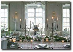 Swedish Gustavian Interiors From The Affari Catalogue.