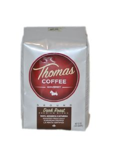 Thomas Coffee Dark Roast Ground -- Check out this great product. (This is an affiliate link and I receive a commission for the sales)
