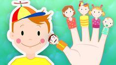 Finger Family - Daddy Finger Song for Children! Kids Song with Lyrics Finger Song, Mommy Finger, Finger Family Song, Family Songs, Baby Finger, New Nursery Rhymes, Nursery Rhymes Collection, Nursery Songs, Family Drawing