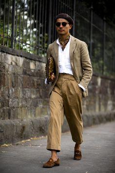 Pitti Uomo the strongest street style - Mode für Frauen Street Style Outfits, Looks Street Style, Street Style Trends, Casual Street Style, Looks Style, Looks Cool, Men's Style, Street Styles, Latest Mens Fashion