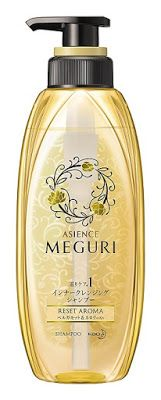 The Best Japanese Shampoo And Conditioner Won Beauty Awards in Japan - Kao Asience Meguri   It has grown on me!