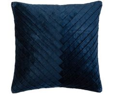 Samt-Kissenhülle Betty, dunkelblau Delia Fischer, Betta, Cushions, Throw Pillows, Blue, Shopping, France, Urban, Products