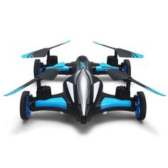 JJRC H23W Air Ground Flying Car 0.3MP Wifi Camera 2.4G 4CH 6Axis 3D Flips One Key Return RC Drone Quadcopter Toy RTF