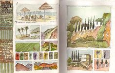 the layout of these pages is wonderful. Some good ideas here. Artist: Amanda Kavanagh