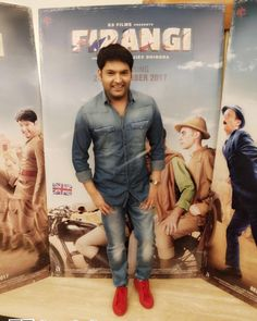Promotions for firangi are on full swing . All set for digital interviews and don't forget to watch on November. Kapil Sharma, Promotion, Comedy, November, Interview, Forget, Fan, Watch, Digital