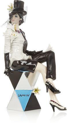Lanvin Miss 44 porcelain figurine - home decor / figurines