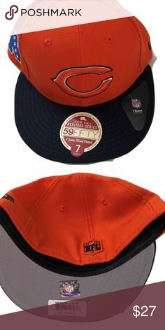 Chicago Bears New Era 59Fifty Heritage Series Hat Chicago Bears New Era  59Fifty Heritage Series Wool 672d79a2675