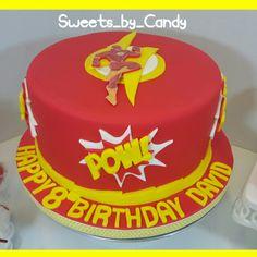 The Flash Cake #flashcake www.sweetsbycandy.com
