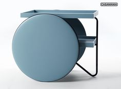 New in! The iconic shape we know and a new color: #Chariot, design #Gamfratesi for Casamania, soon available in light blue.  #casamania #design #furniture