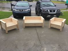 Home Furniture Grey Rustic Furniture Bedroom Woodworking Projects Diy, Diy Wood Projects, Furniture Projects, Garden Projects, Modern Outdoor Chairs, Outdoor Furniture Chairs, Pallet Garden Furniture, Rustic Furniture, Modern Furniture
