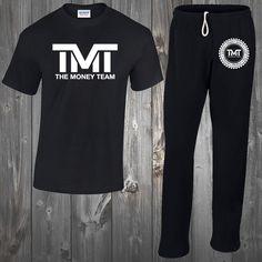 Men s TMT T Shirt  amp  Pants BUNDLE The Money Team Floyd Mayweather Vs  Manny Gym ef8e71ef756