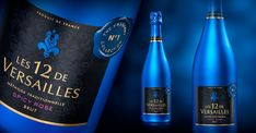 LINEA Agency - Les 12 de Versailles Perfumed Sparkling Wines PACKAGING DESIGN World Packaging Design Society│Home of Packaging Design│Branding│Brand Design│CPG Design│FMCG Design