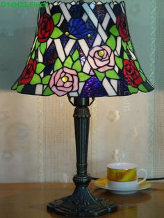 Rose Tiffany Lamps  14S0-174T327