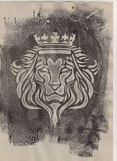 deviantART: More Like Lion of Judah front face by esferograffico