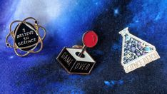 Nerdy Enamel Pins and Where to Find Them - Writing Into The Ether Ethereal, Nerdy, About Me Blog, Geek Stuff, Enamel, Writing, Geek Things, Vitreous Enamel, Enamels