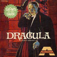 Dracula: AURORA BOX ART