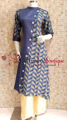 Kurtis neck designs for your stylish look - Simple Craft Ideas Indian Suits, Indian Wear, College Dress Code, New Kurti Designs, Salwar Kameez Neck Designs, Kurtis Tops, Split Prom Dresses, Latest Kurti, Saree Dress