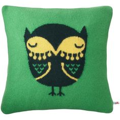 Owl cushion (5.305 RUB) ❤ liked on Polyvore featuring home, home decor, throw pillows, owl home decor and owl throw pillows