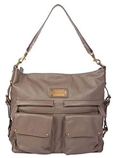 c7c9abb73f0b Kelly Moore 2 Sues Camera Tablet Bag with Shoulder  amp  Messenger Strap  (Grey