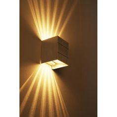 Applique murale Erik Aluminium 13W01 | lampe.fr Recessed Lighting Fixtures, Corridor Lighting, Outdoor Wall Lighting, Exterior Wall Light, Exterior Lighting, Modern Chandelier, Chandelier Lighting, Design Despace, Applique Art Deco