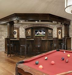 Definitely Creating This Room For The Hubby Someday! Basement Sports  BarBasement ...