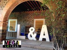 #LetrasGigantesPuebla #Ideasparadecorar #decoracionparabodas #Letrasparaeventos #LetrasGigantes  #Letras3D #MEGAletras  #BodasenPuebla