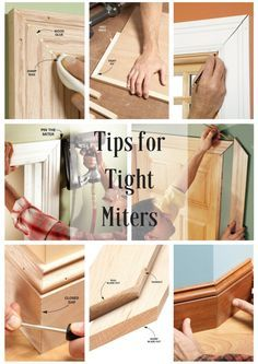 Tips for Tight Miters - Pro tricks for air-tight joints