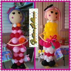 Muñeca en globo