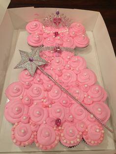 Princess pull apart cupcake dress.