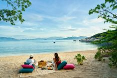 Romantic midweek escape at private #beach Bai Nho.