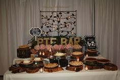 Decorated Pie Bar!!!!