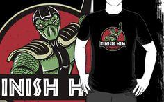 Cool Mortal Kombat shirt.