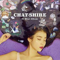 IU releases artistic album cover for 'CHAT-SHIRE' | allkpop.com