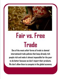 is free trade fair Conclusion the main theories which provided a free trade did also provided a fair trade the result expected by david ricardo is not the same in the reality.