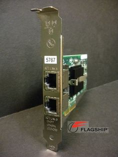 IBM 5767-91XX 46K6601 10N6845 PCIe 2 Port Gb Ethernet-TX Adapter