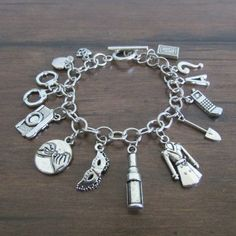 Pretty Little Liars Inspired Charm Bracelet by MHoustonDesigns