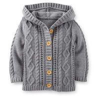 Hooded Sweater Jacket $16.00
