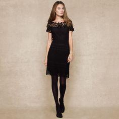 黑色连衣裙 - 蕾妮 - 蕾雨轩