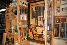 Tool Cabinet Increases Storage By 350 Percent •• - by tyvekboy @ LumberJocks.com ~ woodworking community