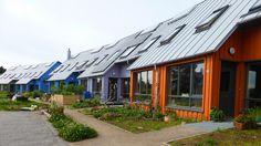 Findhorn Ecovillage in Scotland.