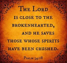 IF someone you know is being crushed be assured Father is with them and all will be well with their soul!  Be at peace... rejoice in their behalf, while comforting with the comfort you received when you were where they are now!