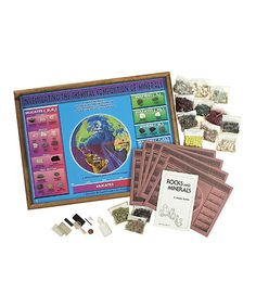 Another great find on #zulily! Investigating Chemical Compositions & Minerals Project Kit #zulilyfinds