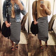 Buy online modest dresses for women Skirt Outfits Modest, Modest Dresses, Modest Clothing, Modest Apparel, Fall Outfits, Casual Outfits, Cute Outfits, Church Outfits, Modest Winter Outfits