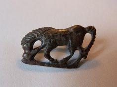 Antique for sale Zoomorphic roman horse fibula brooch Animal sculpture Sculpture Fine arts architecture