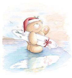 Teddy Bear - Forever Friends - Christmas