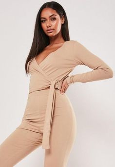 Order today & shop it like it's hot at Missguided. Girly Outfits, Classy Outfits, Fashion Outfits, Loungewear Set, Sleepwear Women, Pajamas Women, Cute Pajama Sets, Athleisure Outfits, Wrap