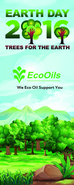Earth Day 2016 banner for EcoOils
