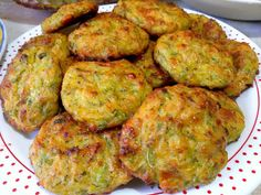 Greek Dishes, Cooking Light, Greek Recipes, Fritters, Zucchini, Cooking Recipes, Cooking Ideas, Dessert Recipes, Food And Drink
