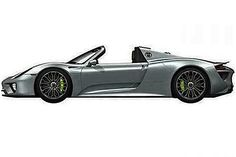 Porsche 918 Spyder Photo leaked Move over Ferrari, the Germans want a turn at supercar dominance.    Read more: http://www.digitaltrends.com/cars/first-photo-of-production-porsche-918-spyder-leaked/#ixzz2HmthiVx1   Follow us: @digitaltrends on Twitter   digitaltrendsftw on Facebook